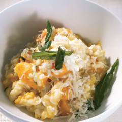 Butternut and goat's-milk cheese risotto