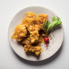 Homemade Cape Malay-style pickled fish
