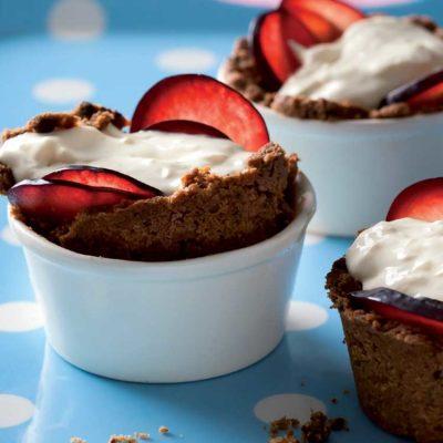 Easy berry cheesecakes