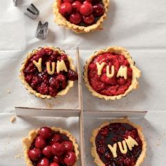 Berry-burst pies