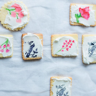 Painted biscuits