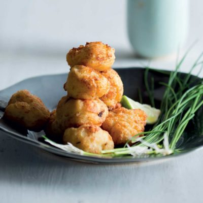 Roast cauliflower croquettes