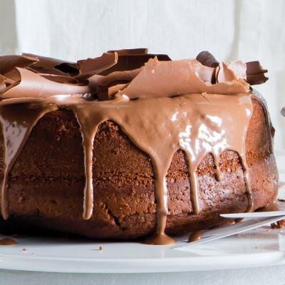 Chocolate hot milk sponge