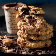 Double-trouble chocolate-chip cookies