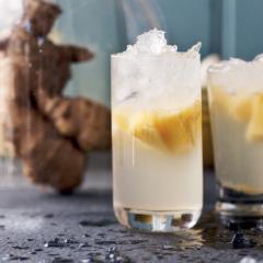 Homemade ginger beer