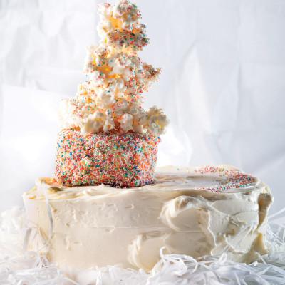 Moist banana daiquiri cake