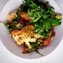 Asian-style scrambled eggs