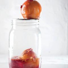 Peach-and-coriander pickle