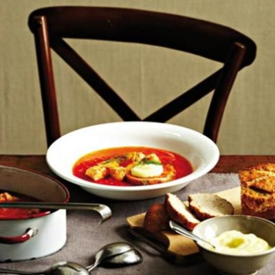 All-in-one fish soup