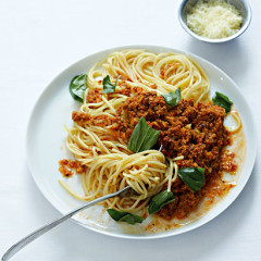 All-time favourite spaghetti with bolognese