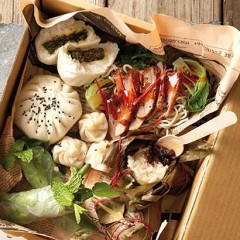 Asian dim sum box