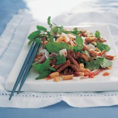 Asian duck salad