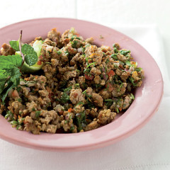 Asian minced pork salad