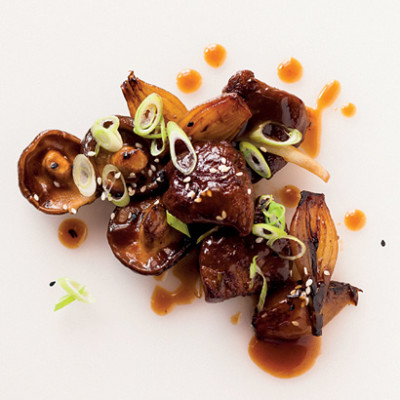Asian-style liver and onions