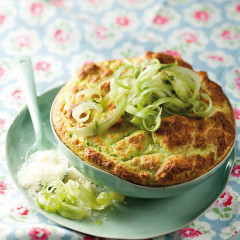 Asparagus and fennel souffle