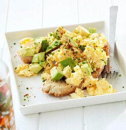 Avocado Cajun Scrambled Eggs Woolworths Taste