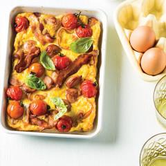 Baked breakfast omelette