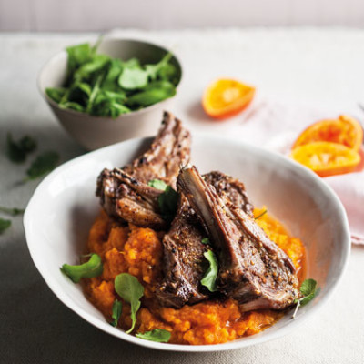 Barbeque-spiced grilled lamb chops with sweet-potato mash | Woolworths ...