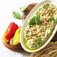 Bean pesto spread