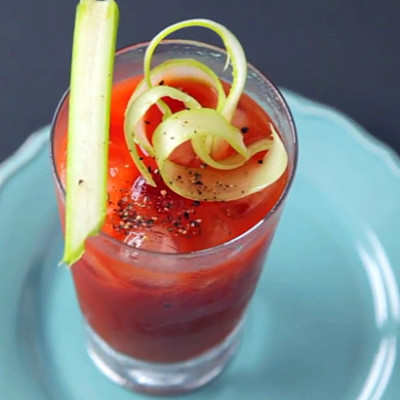 Bloody Mary tomato cocktail