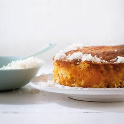 Butternut-and-ricotta cake