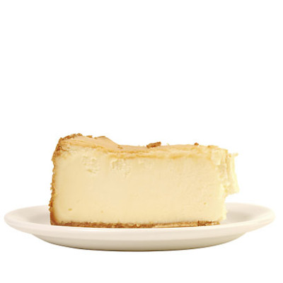 Cardamom and white chocolate cheesecake on a lavender crust