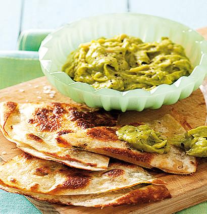 Cheesy Quesadillas With Guacamole Woolworths Taste