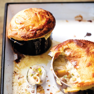 Chicken-and-leek pie | Woolworths TASTE