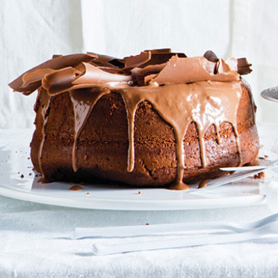 Chocolate drizzle icing