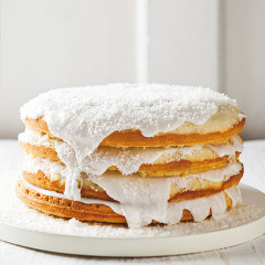 Coconut milk cake
