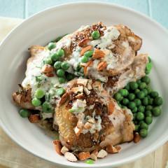 Coriander yoghurt-marinated chicken