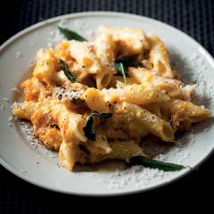 Creamy butternut pasta