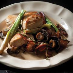 Creamy chicken and mushrooms