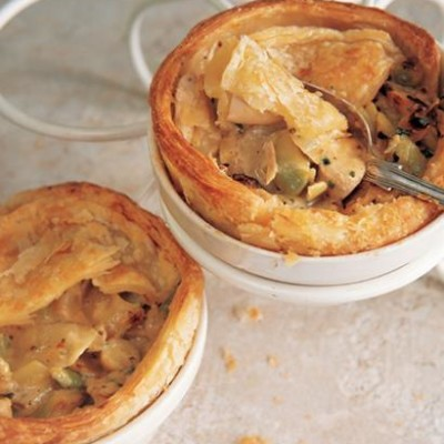 Creamy chicken pies with fennel and wholegrain mustard | Woolworths ...