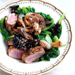 Crispy five-spice duck breasts