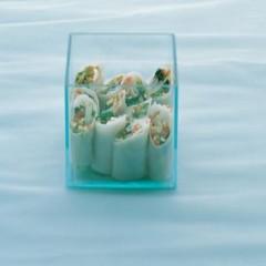 Crystal salad rolls