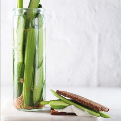 Cucumber-and-celery pickle