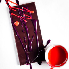 Deco dark chocolate