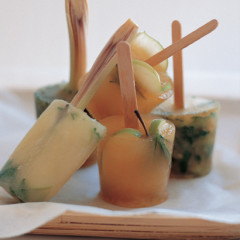 Detox iced lollies