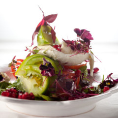Exotic tomato salad