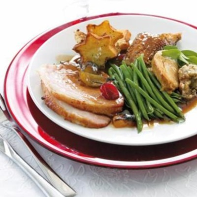 ingham turkey roast cranberry & apple cooking instructions