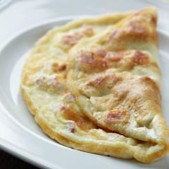French folded omelette