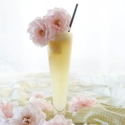 Ginger-beer float