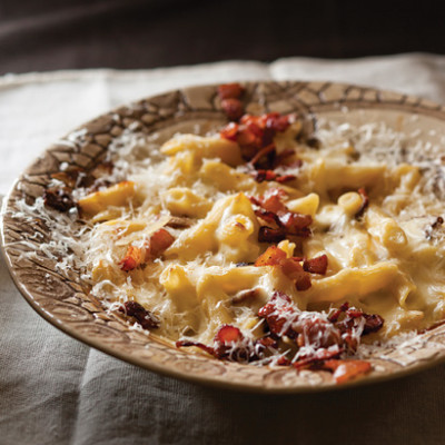 Gourmet macaroni cheese