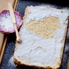 Granadilla shortbread