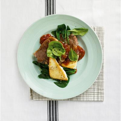 Grilled Greek lamb