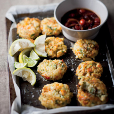 Haddock and fennel fish cakes