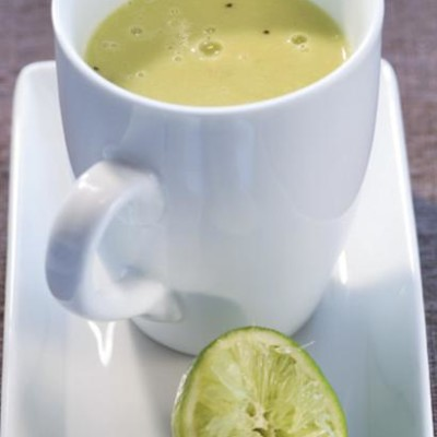 Hot avocado and chicken stock smoothie with fresh lime woolworths hot avocado and chicken stock smoothie with fresh lime sciox Images