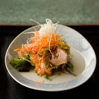 Japanese-style seafood salad