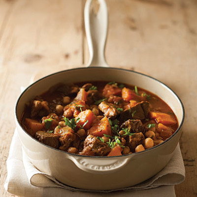 Lamb, chickpea and butternut stew
